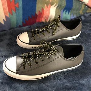 Converse grey mountain club leather men's 8